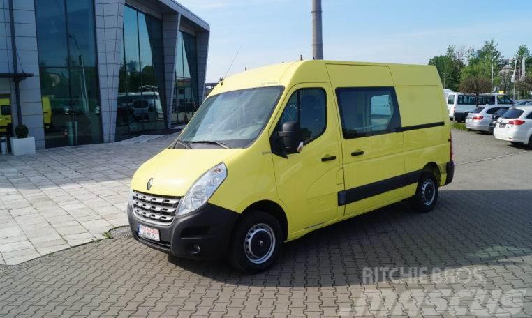 Renault Master 2,3 DCI Średni, L2H2 7 osób ,Prawdziwa Okaz