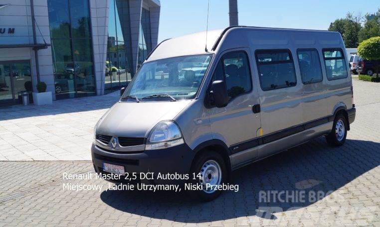 Renault Master 2,5 DCI Autobus 14 Miejscowy ,Ładnie Utrzym