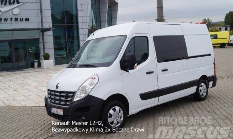 Renault Master L2H2, Bezwypadkowy,Klima,2x Boczne Drzwi, D