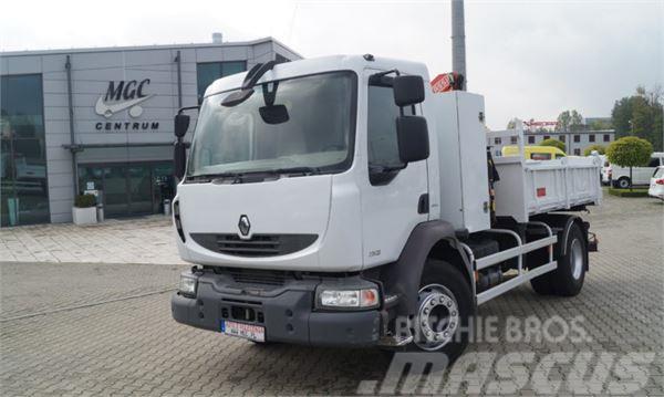 Renault MIDLUM 280.16 DXI3 Stronna Wywrotka HDS Fassi,Euro