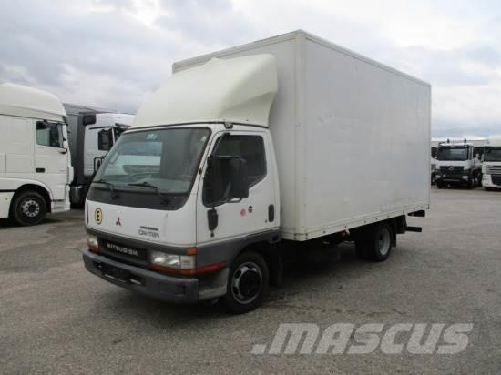 Mitsubishi CANTER 35S-TURBO MIT LADEBORDWAND