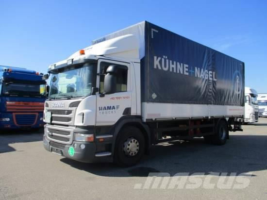 Scania P280 4X2 PLANE, LBW, EEV, MANUAL