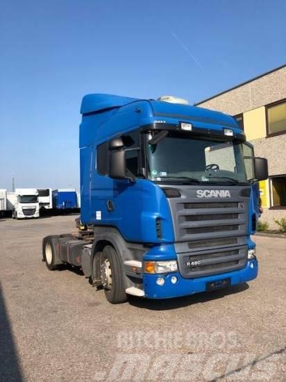 Scania R480 4X2 SZM, SCHUBBODENHYDRAULIK