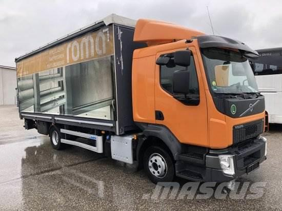 Volvo FL 210 PLANE, MANUAL, E6, LADEBORDWAND