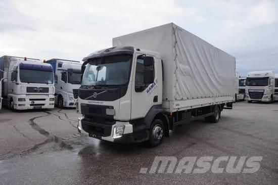 Volvo FL 210 PLANE, MANUAL, LADEBORDWAND ,EURO6
