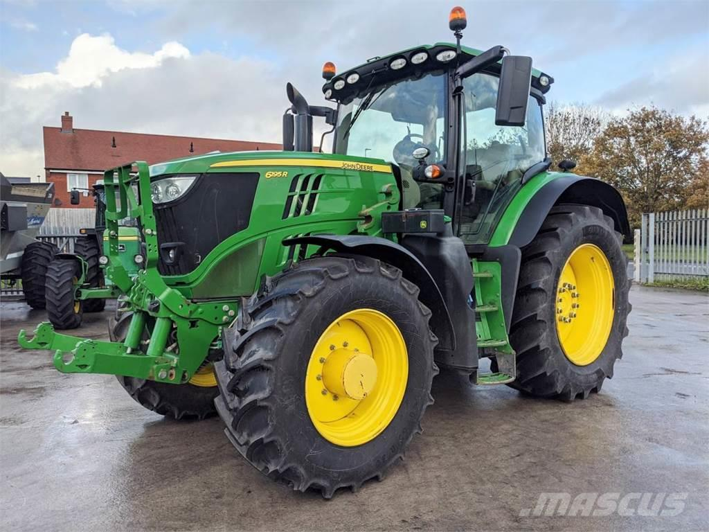 John Deere 6195R Tractor <b> John Deere PowerGaurd Until 4,5