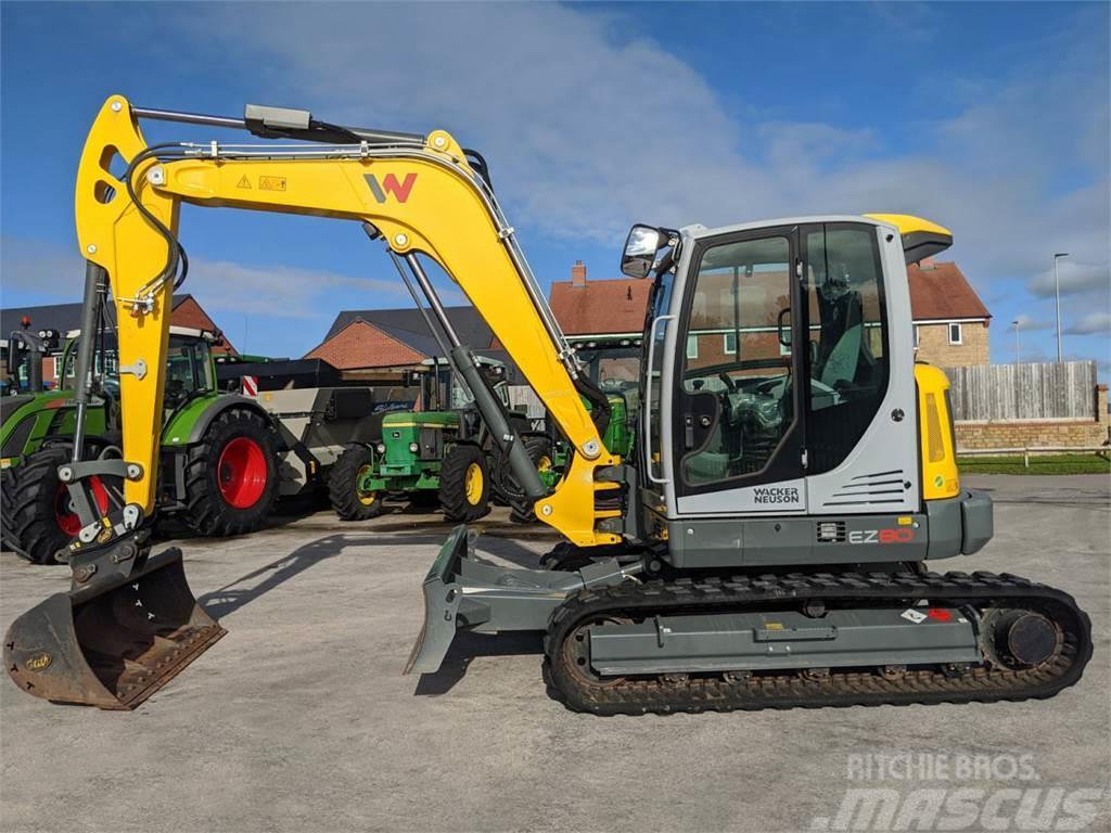 Wacker Neuson E780 8.5 Tonne Excavator
