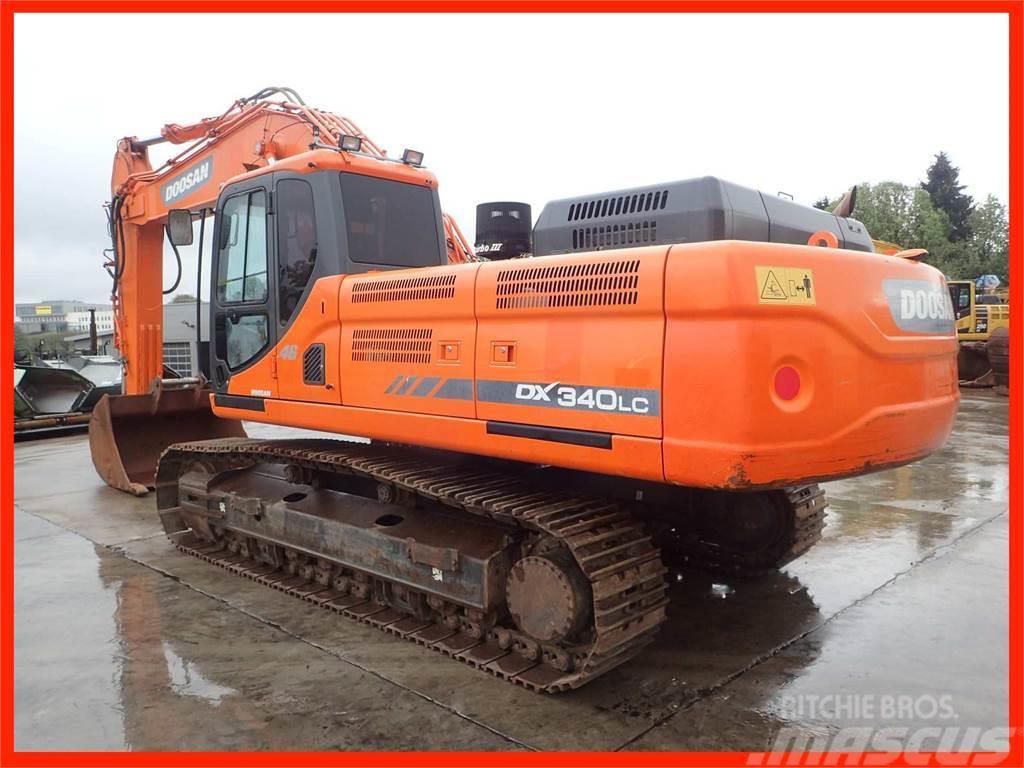 Doosan DX 340 LC-3 Narrow Track