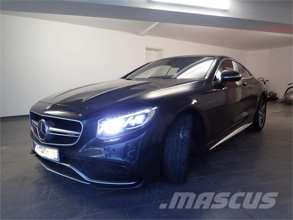mercedes benz s 63 amg coupe occasion ann e d 39 immatriculation 2015 voiture mercedes benz s. Black Bedroom Furniture Sets. Home Design Ideas