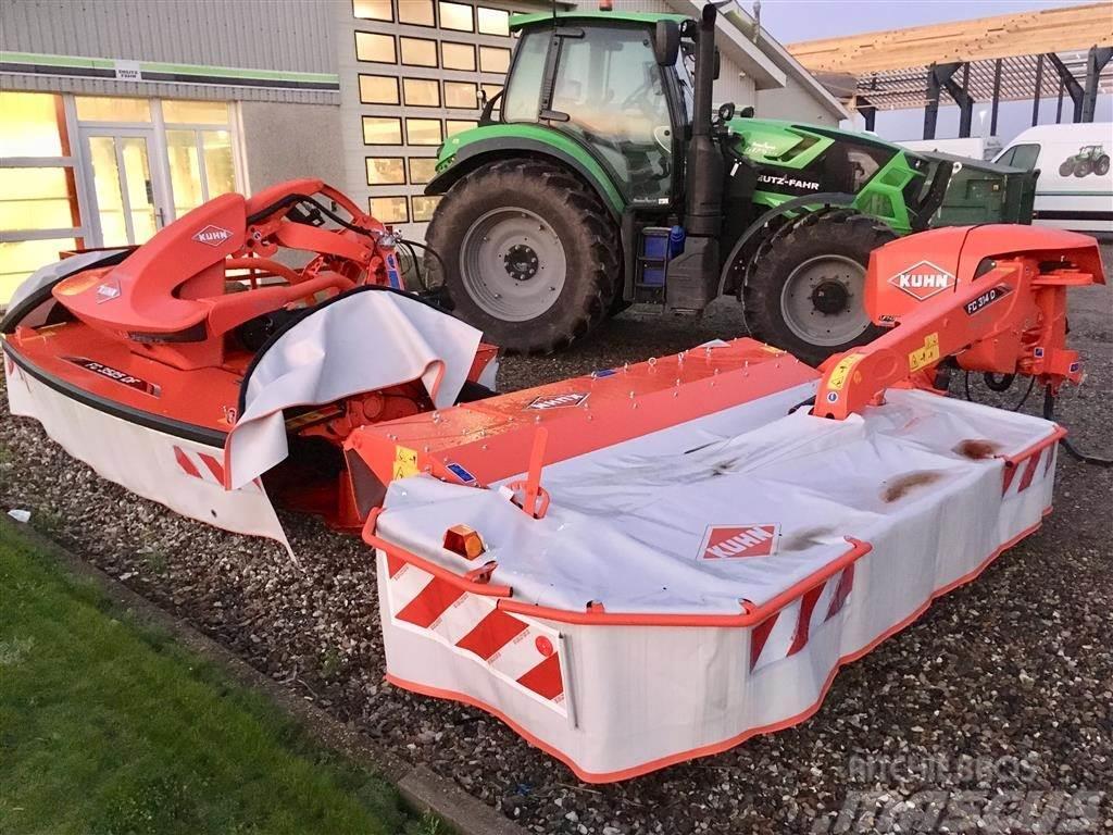 Kuhn FC314D + FC3525DF Med crimper.