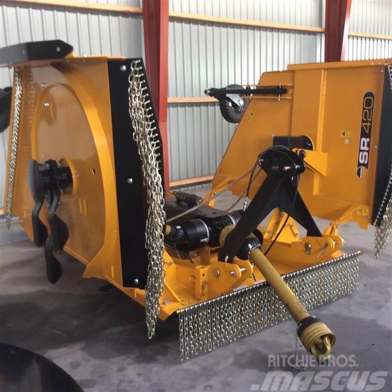 McConnel SR 420 Med 4 hjul til at styre dybden