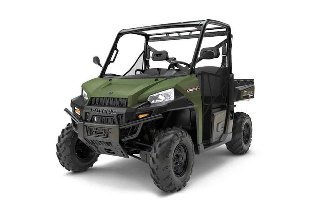 Polaris Ranger Diesel 1000 EPS TRAKTOR Kan Indregistreres,
