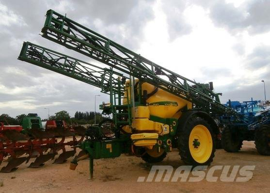 John Deere 840, 2005, Sprayer fertilizers