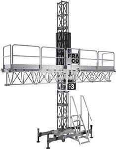 [Other] FRACO FMC-3 arbejdsplatform 1,1T kap. v/enk. mast