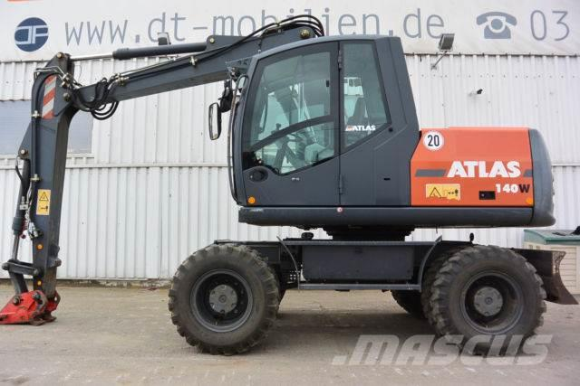 Atlas 140 W MS 10 hydr GRL 2x TL Reifen neu