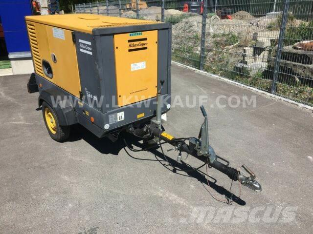 Atlas Copco QAS 20 Generator mit Fahrwerk