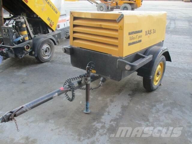 Atlas Copco XAS 36 YD** 7 bar / Bj.2006 /