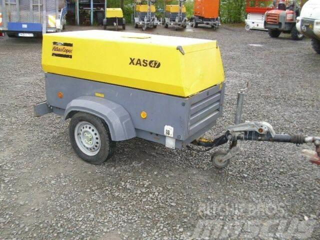 Atlas Copco XAS 47 Kompressor / Generator