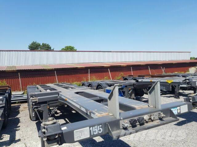 Broshuis 45 ft Multi Chassis ADR - TOP ZUSTAND!!!