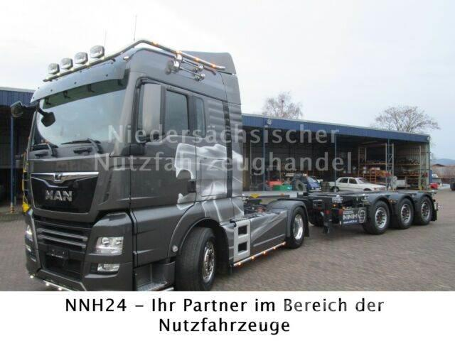 Broshuis 45 ft Multi Chassis ADR MIETE AB 600,- Netto