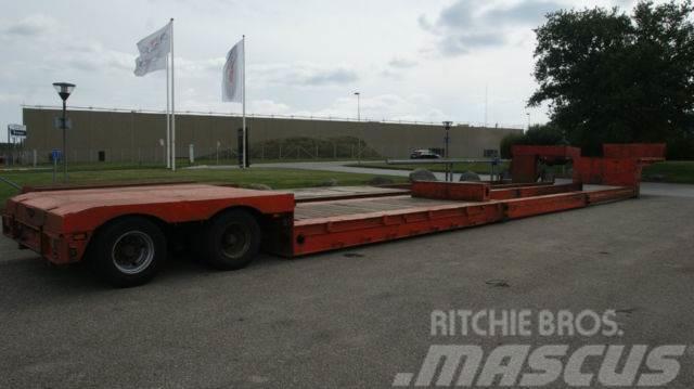 Broshuis Tiefbett 16 m für boottransport/yacht