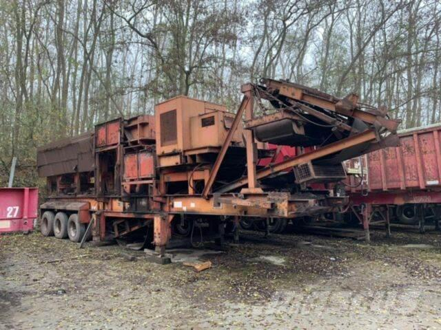 Brown Lenox KK118 Mobile Brechanlage