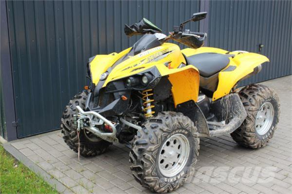 can am renegade 800 preis baujahr 2007 atv. Black Bedroom Furniture Sets. Home Design Ideas