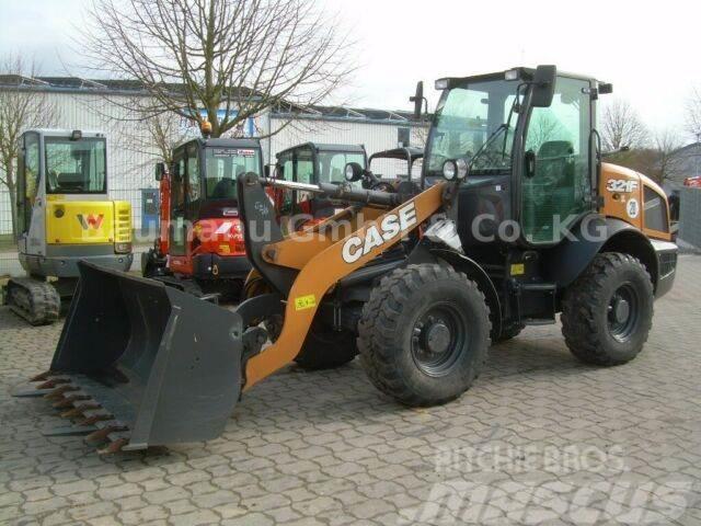 CASE 321F, Bj 18, Schaufel, Gabel, wie CAT 908M