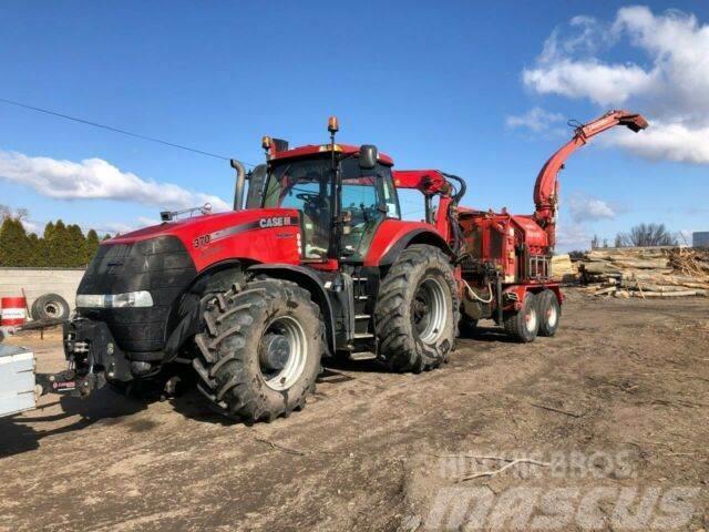CASE MAGNUM 370 CVX traktor+ESCHLBOCK BIBER 84vin7777