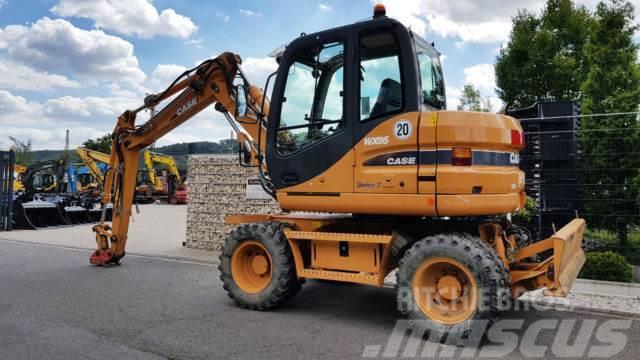 Case WX 95 nur 3659 Bh MS 08 gewicht 10.5 T, 2009, Wheeled excavators ...