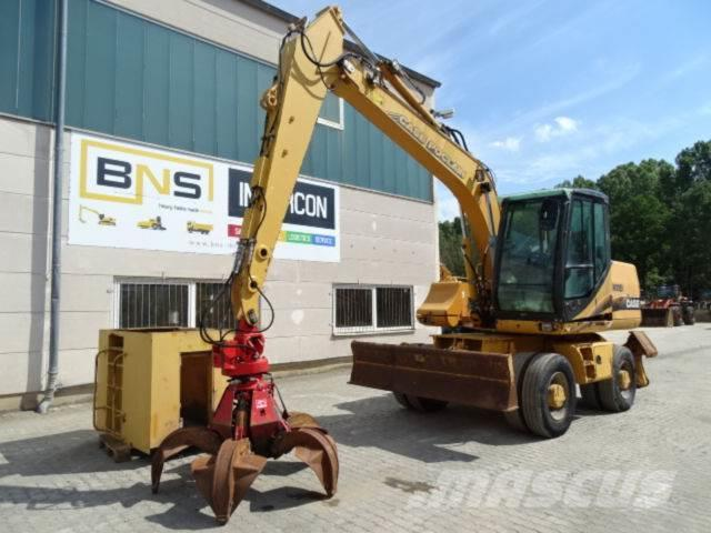 CASE WX150 Umschlagbagger*Bj2003/11390H/Polypgreifer*