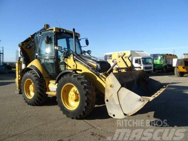 Caterpillar 434E traktorbáger 4x4 EURO 2 vin 154