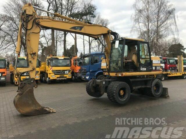 Caterpillar M312 KOPARKA KOŁOWA 14 ton