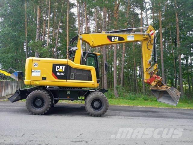 Caterpillar M314 F mit Verstellausleger #135