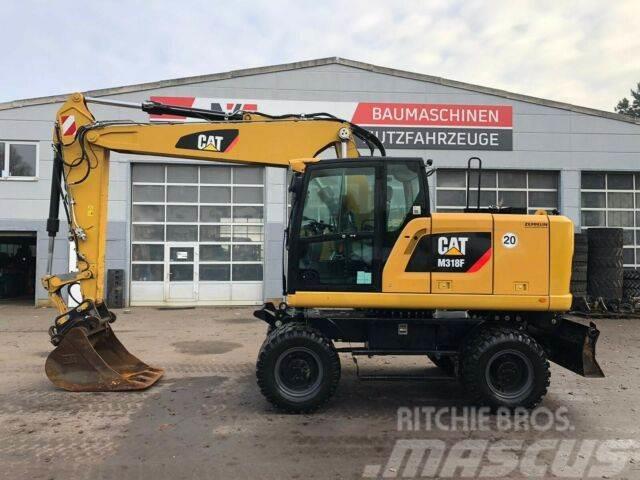 Caterpillar M318F **BJ2015* 6.760H* Hammerltg./Schild/ZSA/Sw