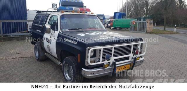 Chevrolet Blazer K-5 5.7l V8 - POLICE polnische H-Zull.