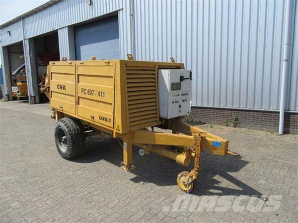 Cifa PC/907/411 E7 Concrete pump