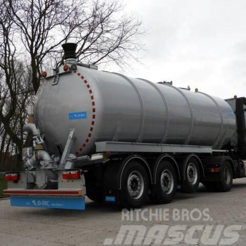 D-tec Gülletankauflieger SV2600, ~5.600 kg Leergewicht