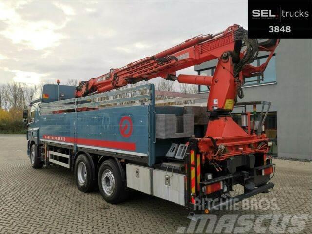DAF CF 85.410 T / Lenkachse / Kran 25,20 m