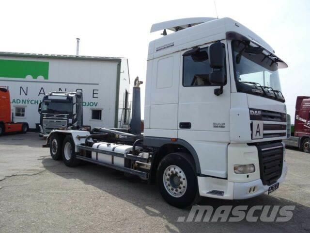 DAF XF 105.460 for containers 6x2,automat,E5,VIN 859