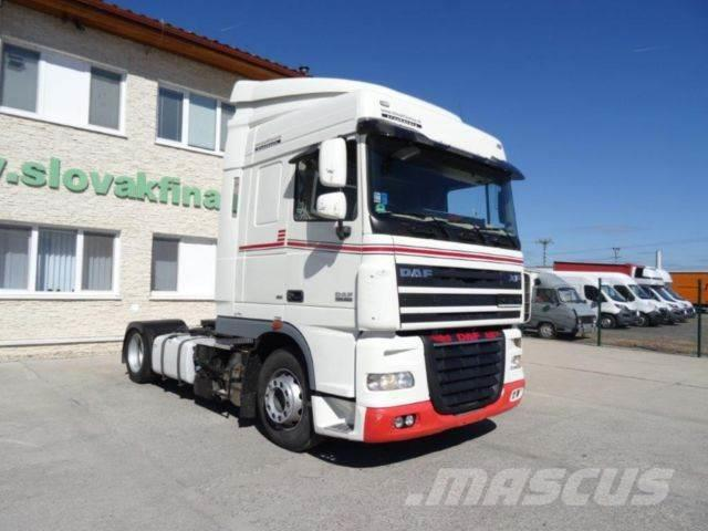 DAF XF 105.460 LOWDECK EEV,manual,intarder, VIN 383