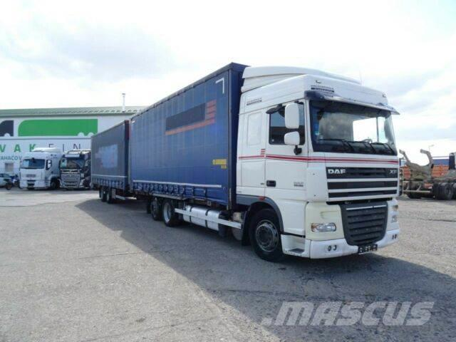 DAF XF105.460,manual,EEV+SAMRO,vin 024+011