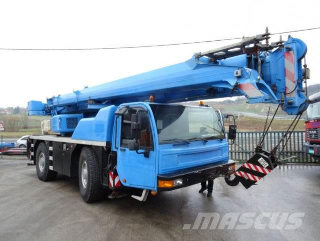 Demag AC 35 4x4 Mobilkran Deutsch brief