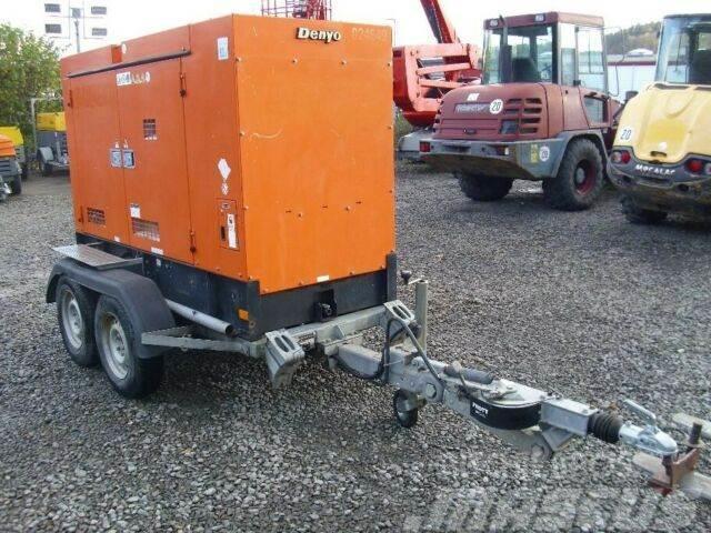 Denyo DCA 70 Generator, Stromerzeuger