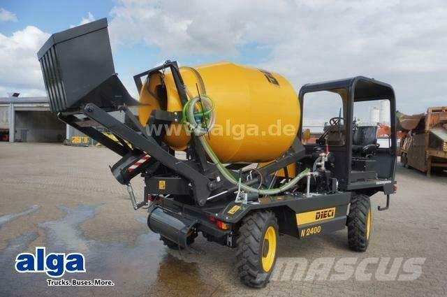 Dieci N2400 4x4, Self Loading Mixer, Wassertank