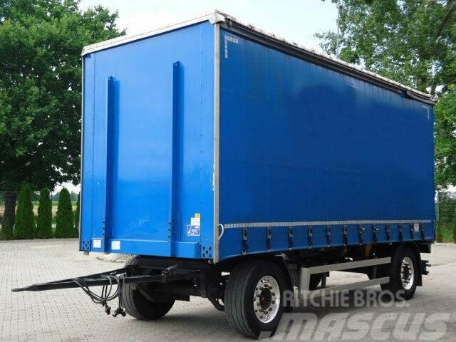 Dinkel DAPP 18000 Pritsche + Plane Anhänger/ 6,4 m