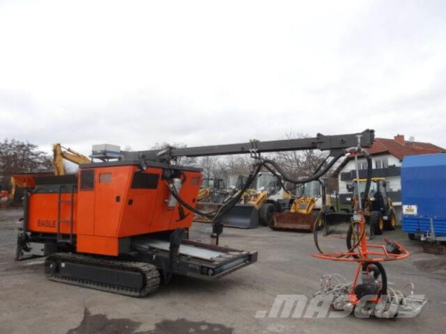 Eagle Brick Layer /Pflastersteinverlegemaschine/