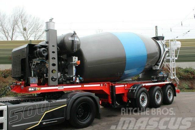 Euromix MTP 12m³ Betonmischer Auflieger