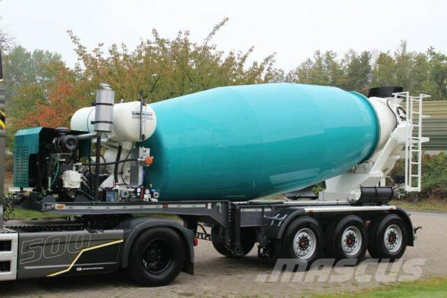 Euromix MTP 12m³ Mischauflieger