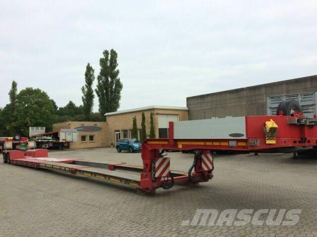Faymonville lowbed 15 m pendel axles